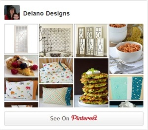 Pinterest Widget Delano Designs