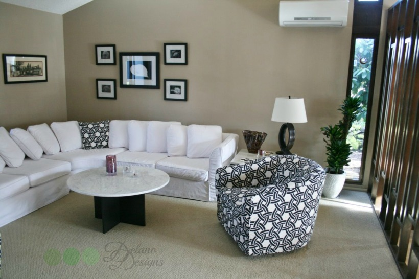 Modern Neutrals Living Room Delano Designs