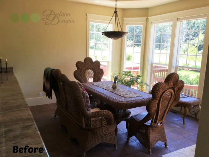 Furniture Upgrade Sunroom Before Delano Designs