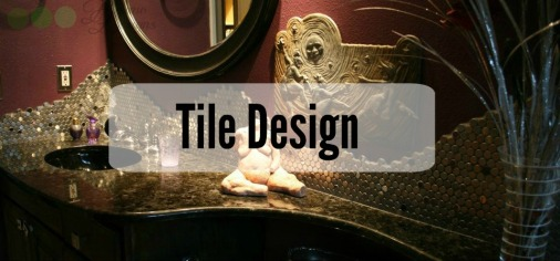 Decadent Bathroom Tile Design Delano Designs