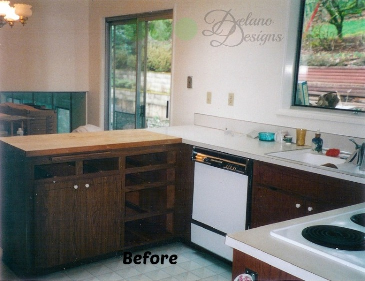 Kitchen Renovation Before 2 Delano Designs