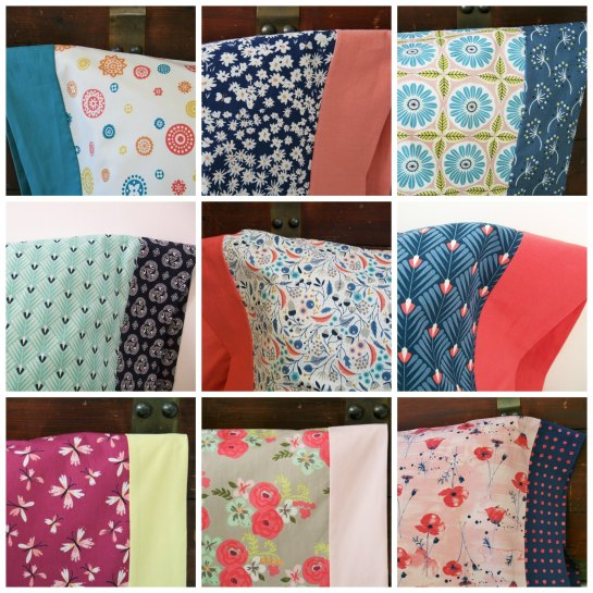 Pillowcases Collage Delano Designs